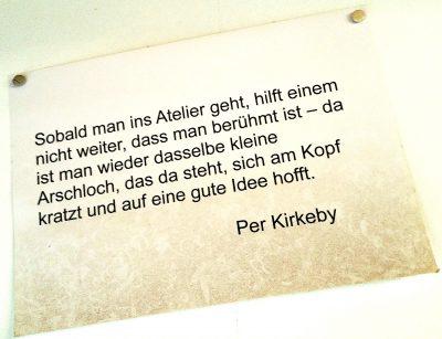 Zitat von Per Kirkeby